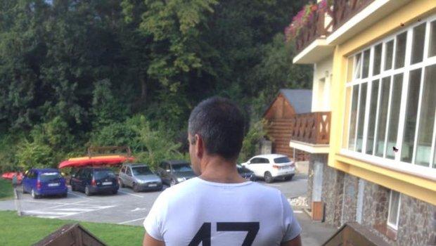 Zvykol som hrávať vždy s číslom 3,ale dnes mi na firemnej olympiáde šupli  a po včerajšej rozlúčke s Ľubomír Višňovský si vravím,že je to riadna pocta...Penzión Lesanka Hotel & wellness Lesanka, Košice - Ružín
