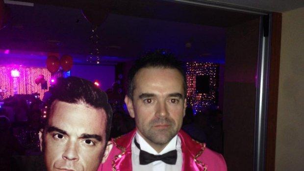 Celebrity párty aj s R.W....Robbie Williams Kongres & Spa Hotel Kaskády