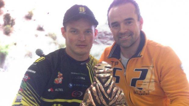 V Bratislave sa dnes zastavil Štefan Svitko a gratulácia k 2.miestu bola opodstatnená...ako sa vraví na Orave good job Svitgooooo:)))) Stefan Svitko Zlatko Novosád Dakar Rally