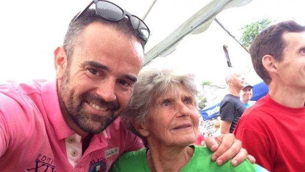 Dnes som na MSR v behu do vrchu spoznal 8 násobnú majsterku sveta...volá sa @maria marcibálova,narodila sa v roku 1934 a 5,6 km do kopca dá ako nič...inak boli tam dnes veľké esá ako Martin Bajčičák,  atd atd...Beh na Zniev Klastor pod Znievom