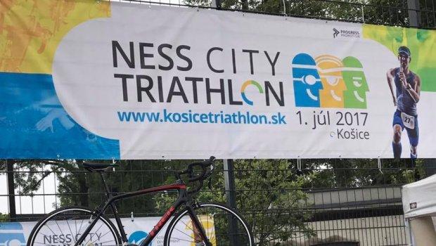 Som prvyyyyyy...žiaľ iba v rade na bagetu;))) ale tento Trek Bicycle niekto dnes naozaj vyhrá od Chrisbbery Sport na 2.ročníku špičkových pretekov Ness City Triathlon Košice 2017...ešte je pár voľných miest ak by ste si trúfali...